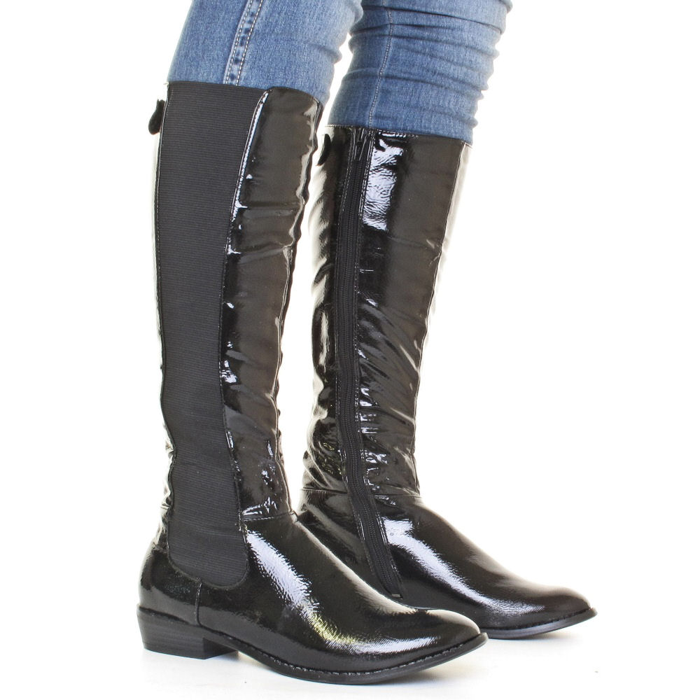 Find slim knee high boots at ShopStyle. Shop the latest collection of slim knee high boots from the most popular stores - all in one place.