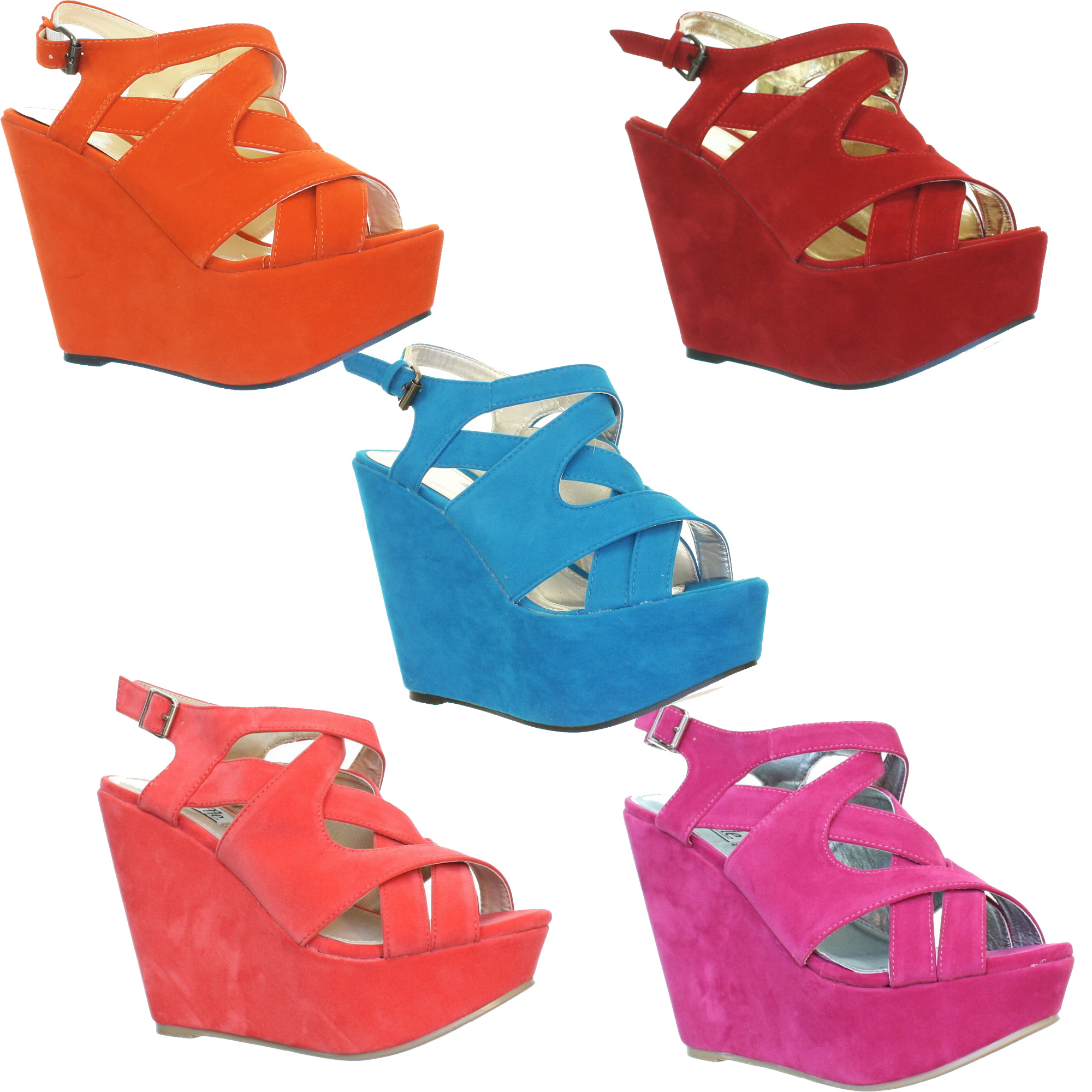 Wedge shoes for ladies