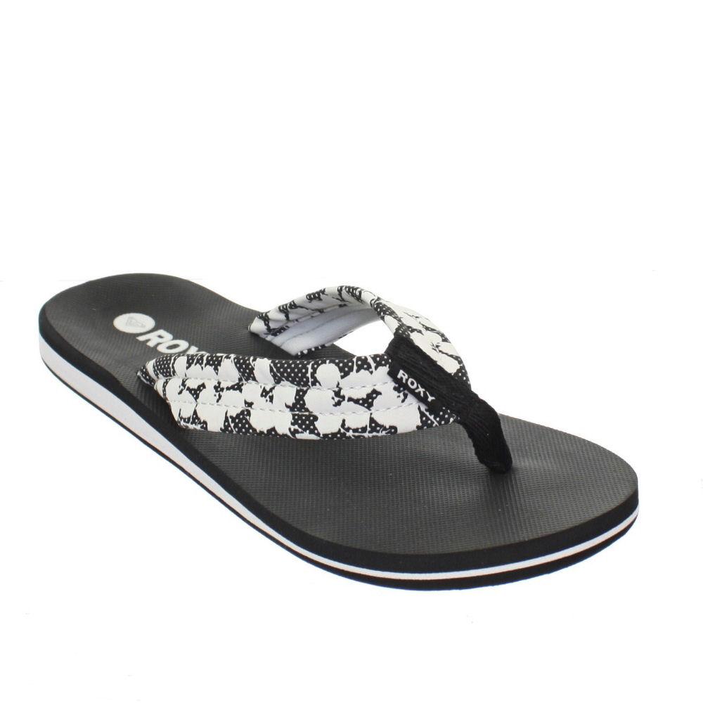 roxy tallia damen flipflops schwarz wei strand sandalen gr 36 41 ebay. Black Bedroom Furniture Sets. Home Design Ideas