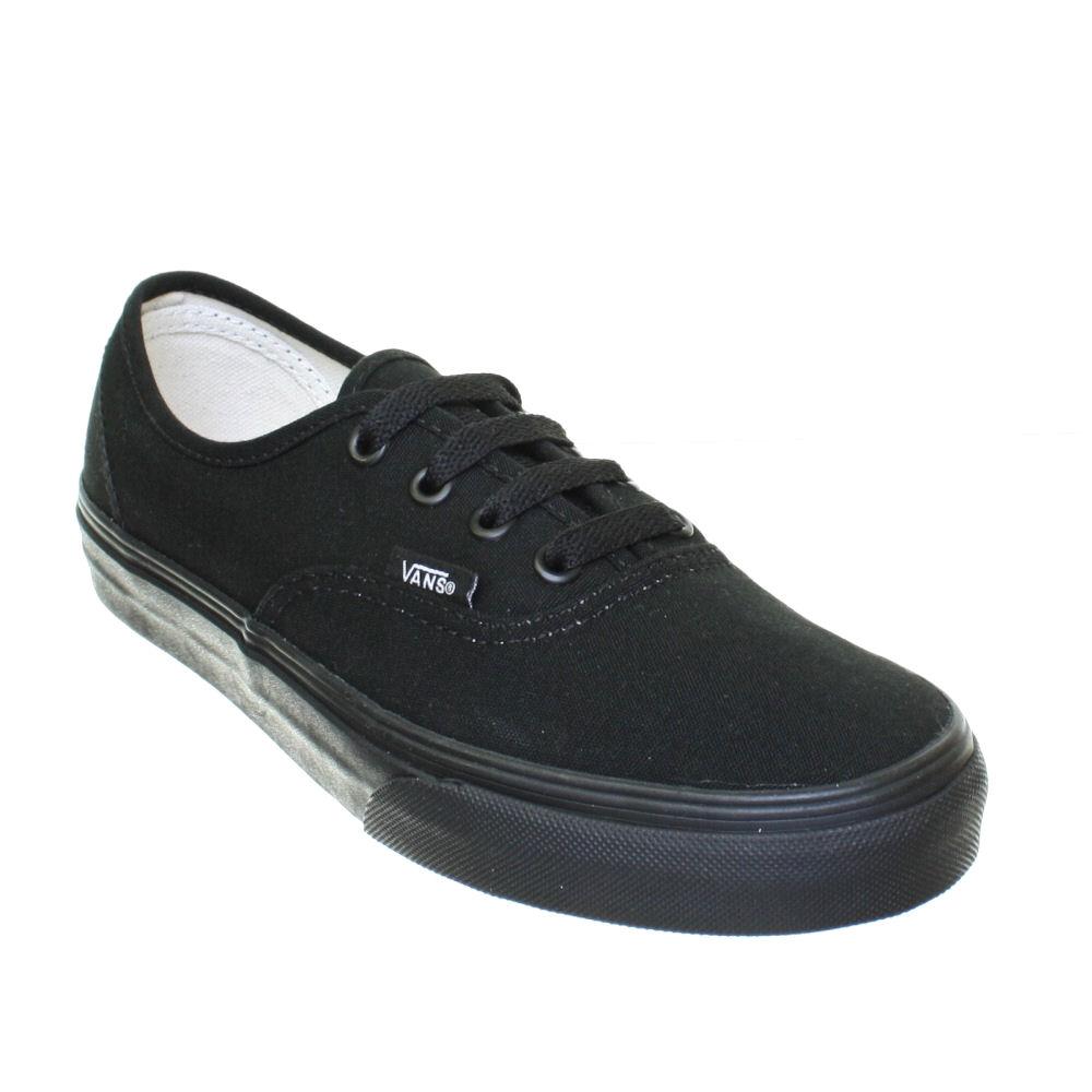 Buy black authentic vans size 3 c6ef0e033a