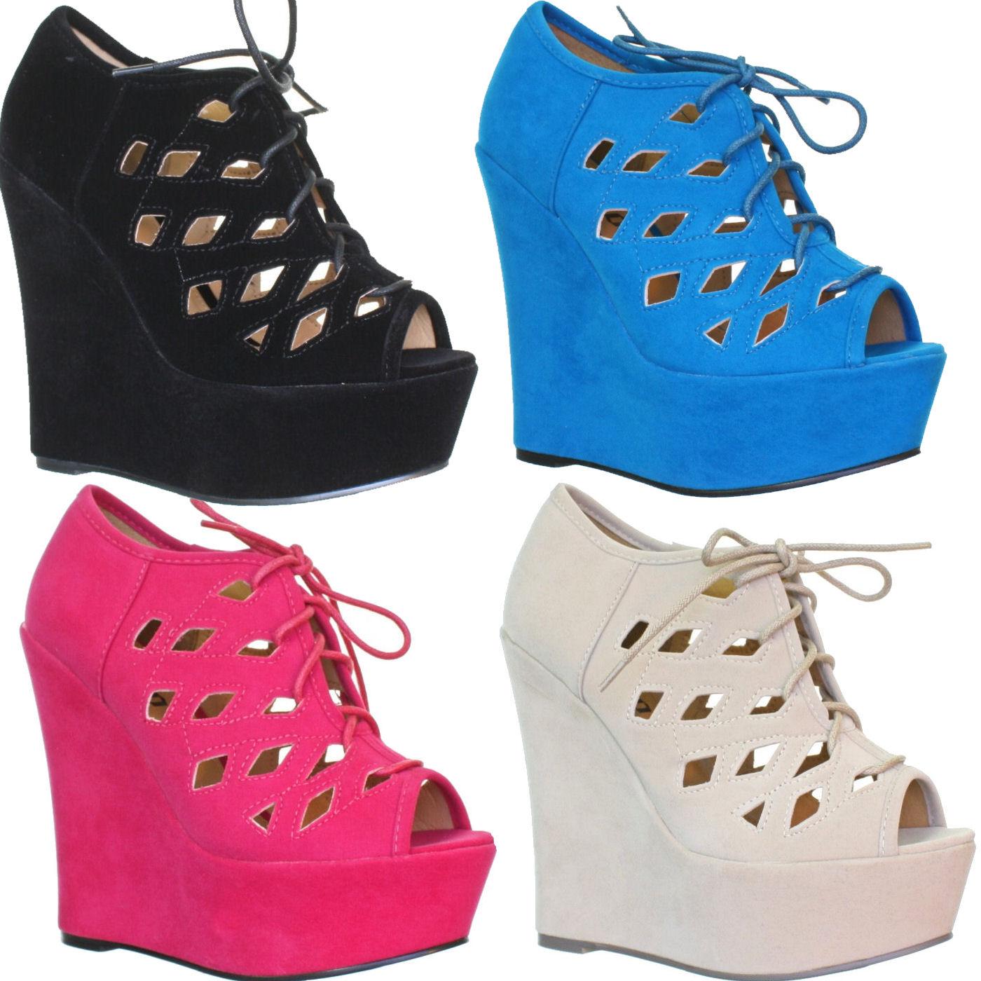 Ladies Wedge Heel Shoes