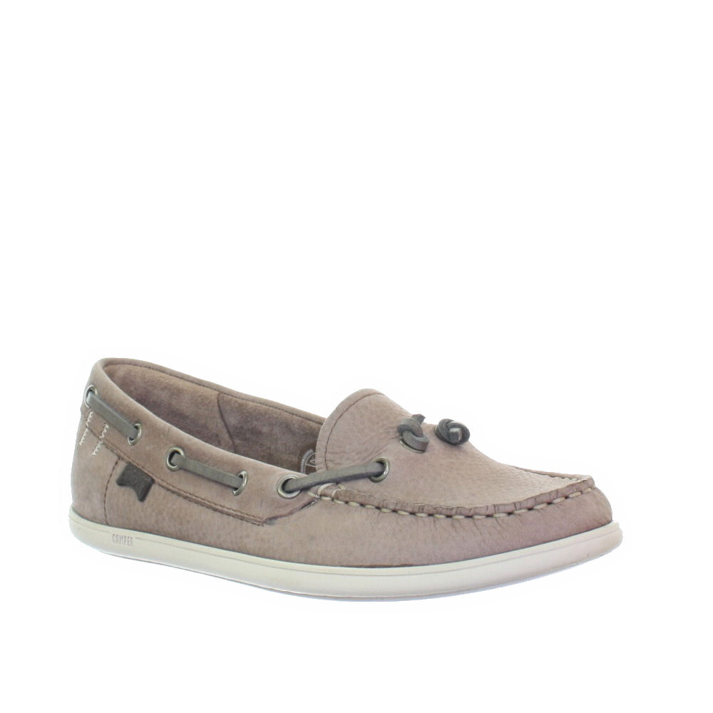 womens cer south leather deck boat shoes loafers
