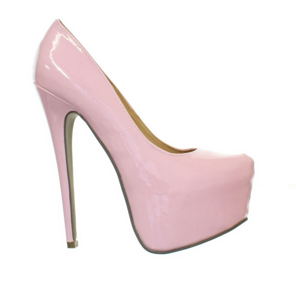 Pastel Pink Court Shoes