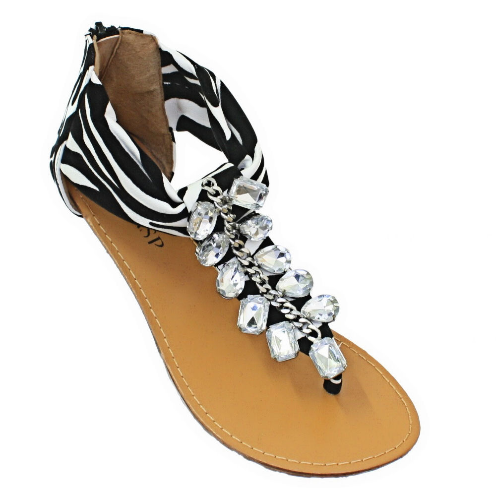 Innovative Tahari Hanover Animal Print Sandals For Women  Womenshoespop