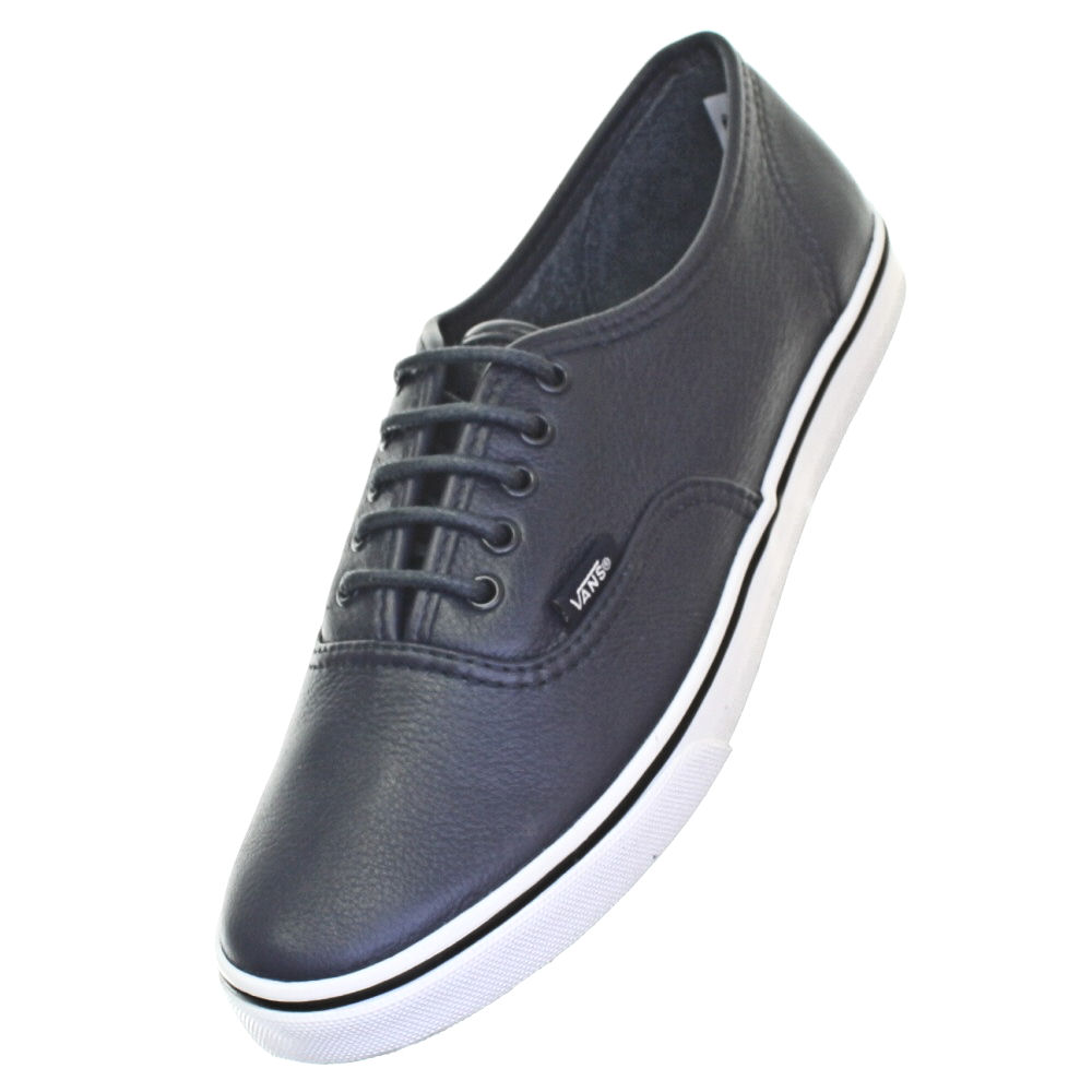 vans lo pro leather black