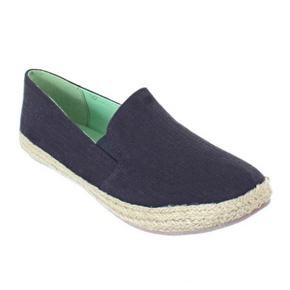 Bandolino Womens Canvas Slip On Shoes