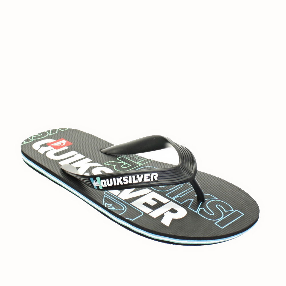 flip flops quiksilver herren molokai nitro schwarz surf strand sandalen 40 45. Black Bedroom Furniture Sets. Home Design Ideas