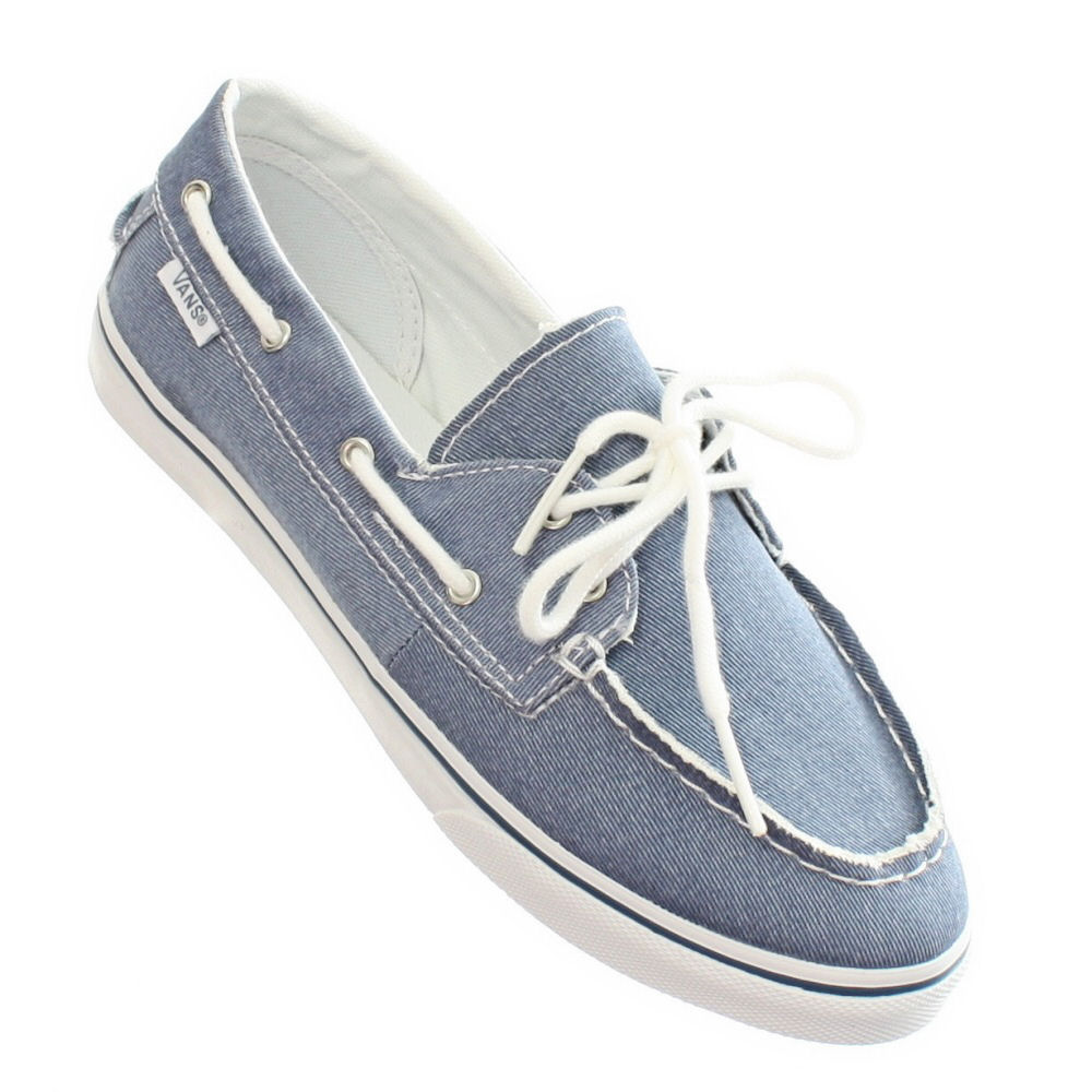 Vans Chauffette SE97YN Womens Laced Canvas Boat Shoes Aqua. Zoom · lightbox moreview · lightbox moreview
