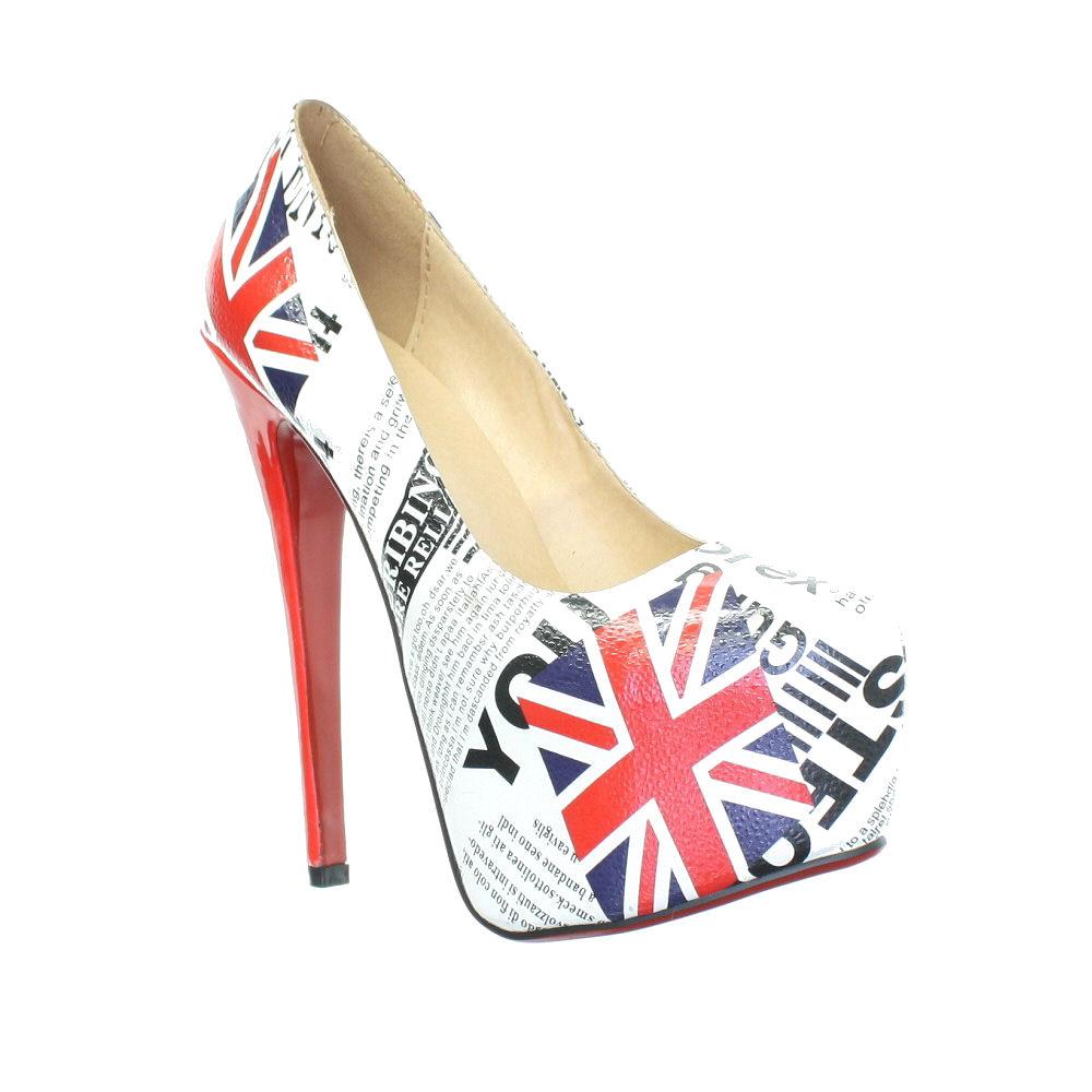 WOMENS-UNION-JACK-BRITISH-HIGH-HEEL-STILETTO-PLATFORM-COURT-SHOES-SIZE-3-8