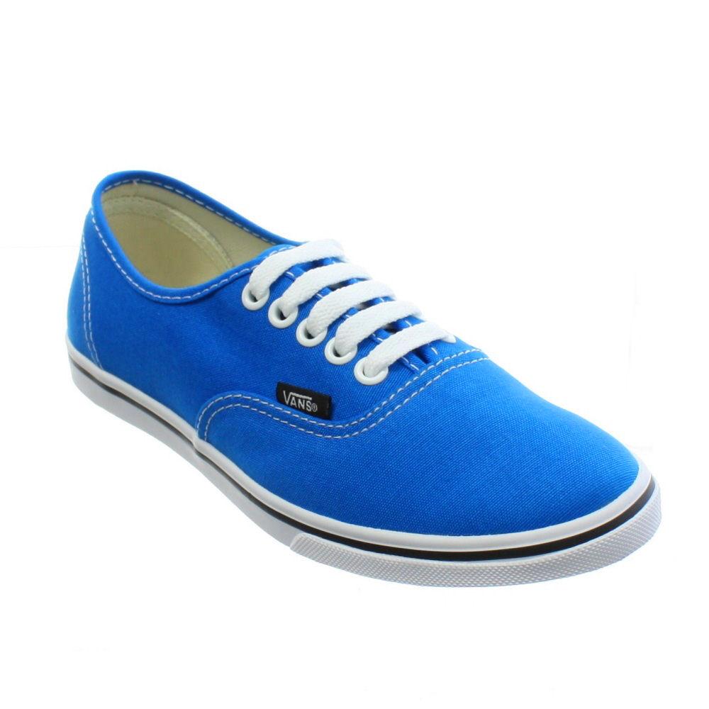 blue lo pro vans