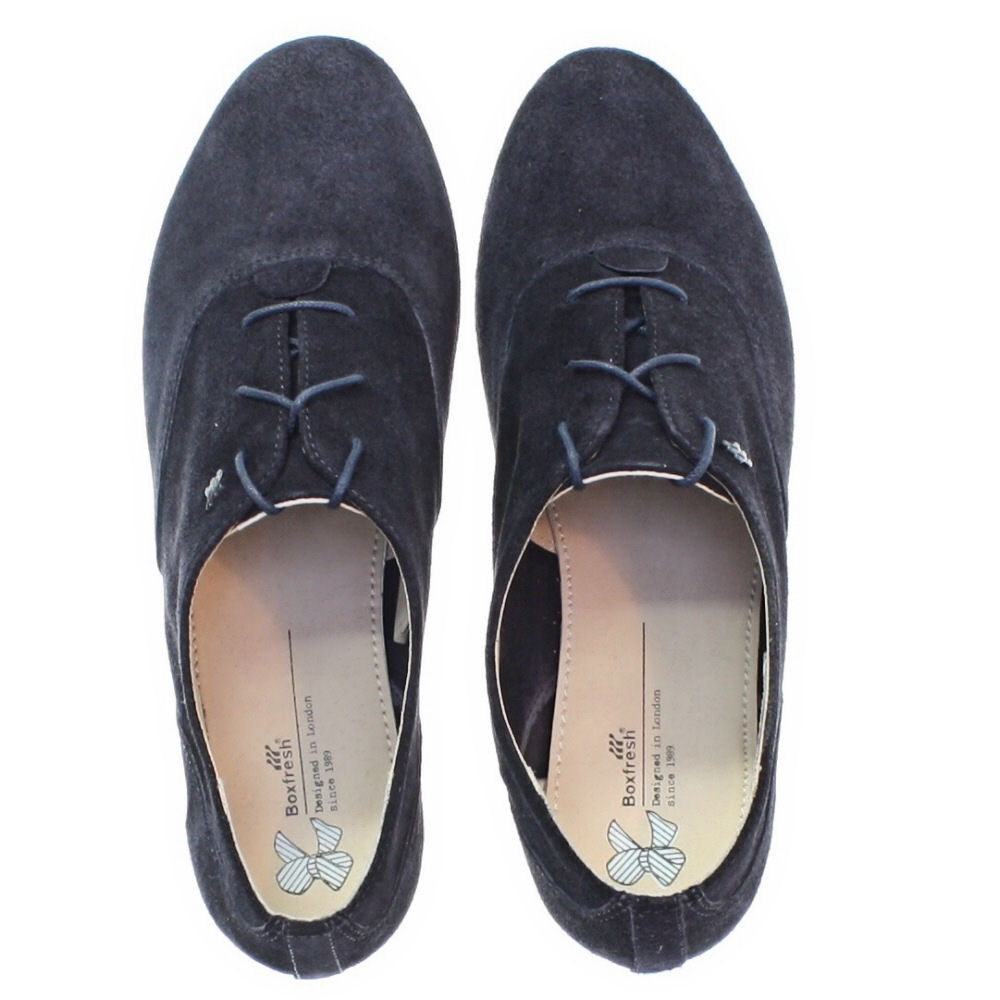 Suede Brogue Ladies Lace Up Shoes