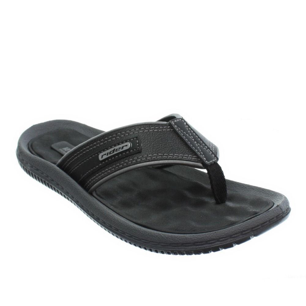 sandalen herren rider dunas zehensteg flip flops strand schwarz 40 5 45 5 ebay. Black Bedroom Furniture Sets. Home Design Ideas
