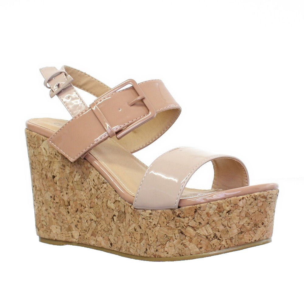 Nude low wedges Nude Photos 91