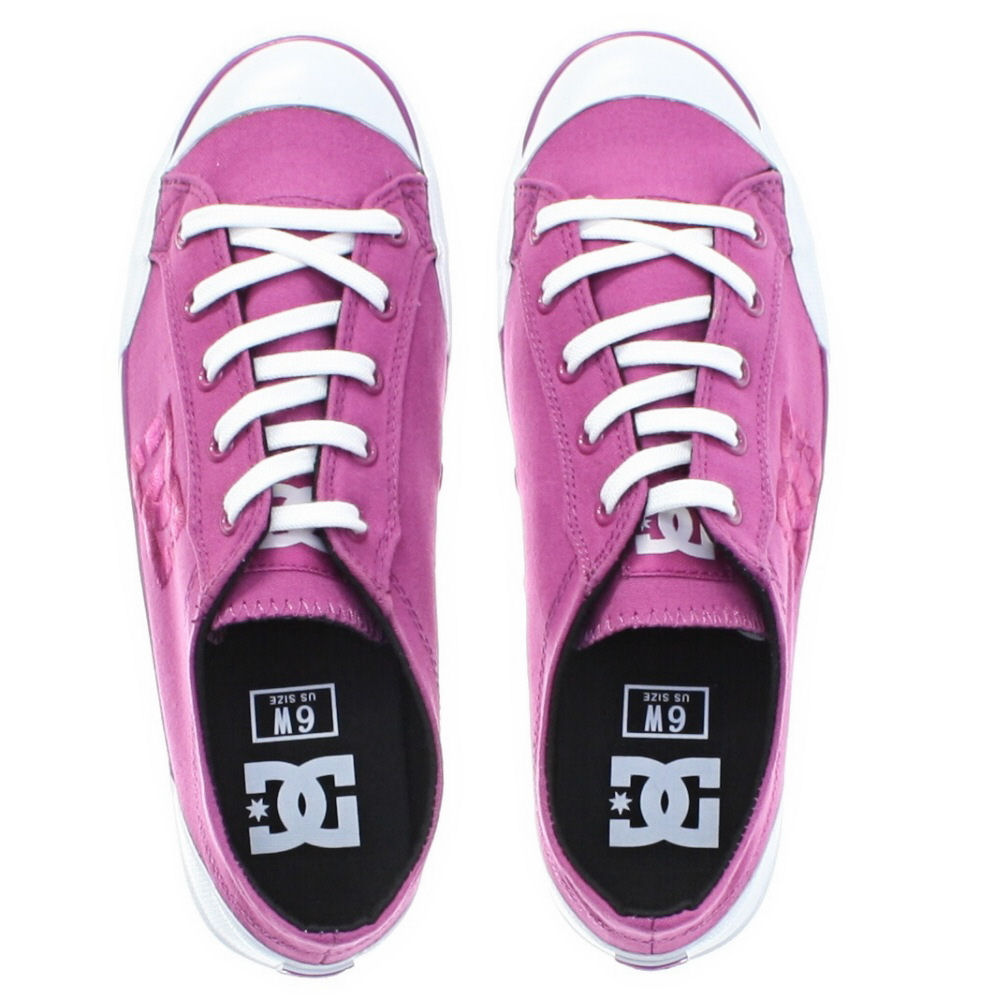 basket dc shoes femme chelsea z ro violet bordeaux lacet 36 42 ebay. Black Bedroom Furniture Sets. Home Design Ideas