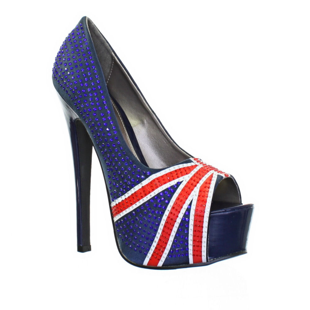Union Jack Shoes Womens