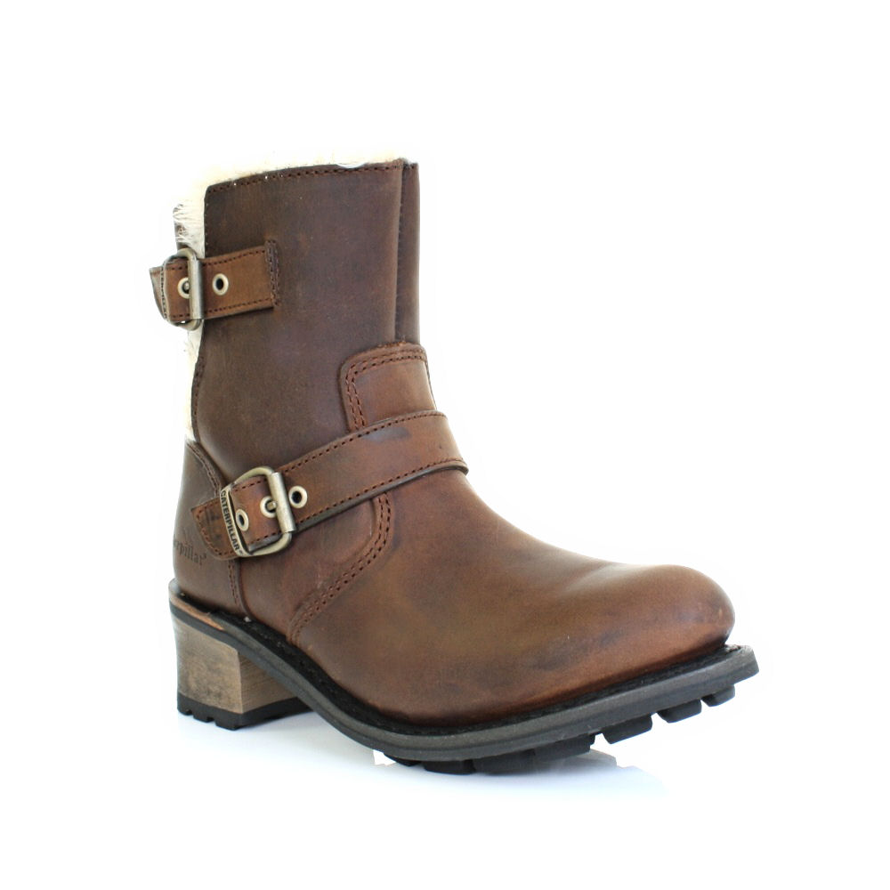 Lastest Cheap Womens Tan Caterpillar Willow Boots At Soletrader Outlet