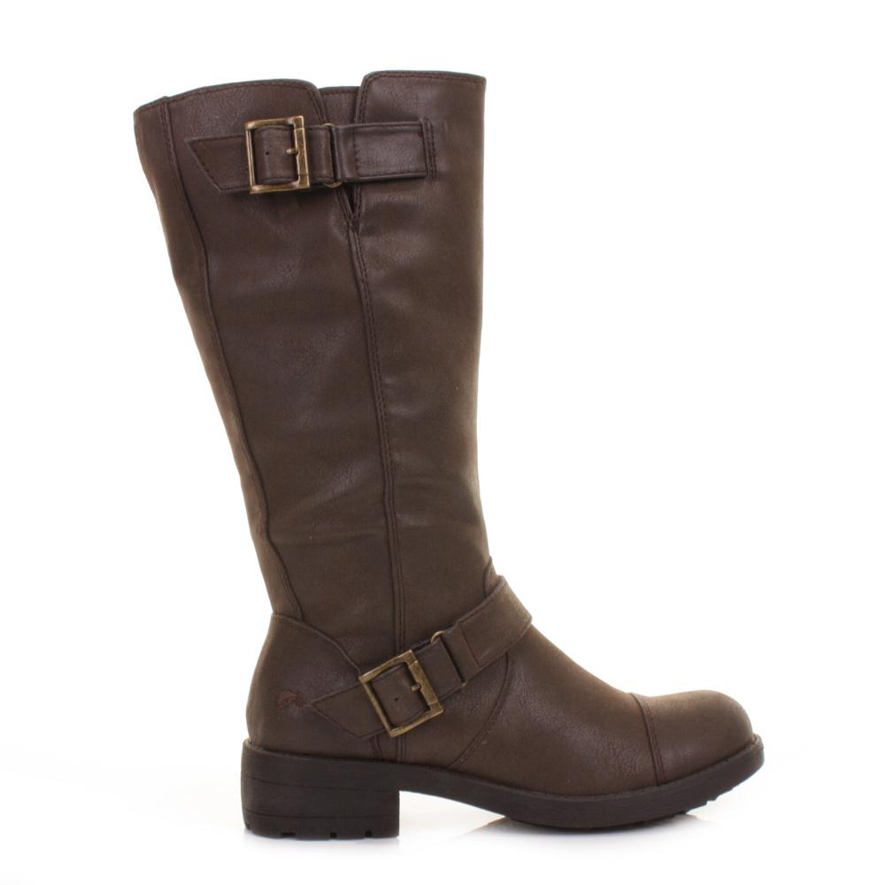 womens rocket terry brown vintage knee high