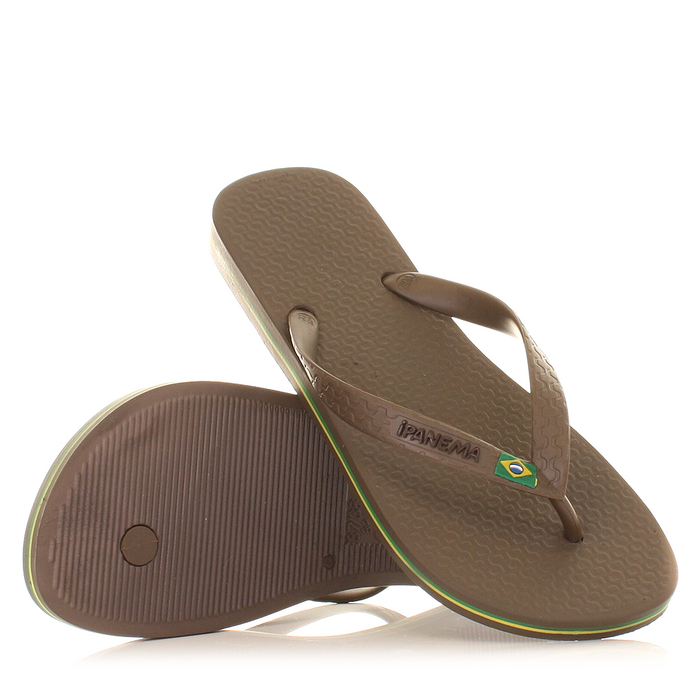 herren ipanema flip flops zehensteg sandalen braun flagge. Black Bedroom Furniture Sets. Home Design Ideas