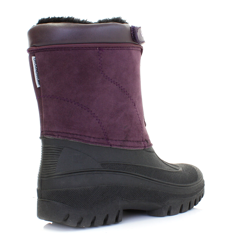 New WomensGirlsFarmGardenFashionRainOutdoorWelliesShoesBootsUK3