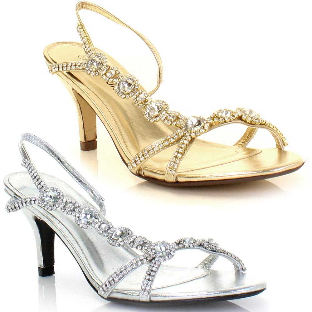 sandale petit talon chaussure ouverte mode femme couleur argent or taille 36 41 ebay. Black Bedroom Furniture Sets. Home Design Ideas