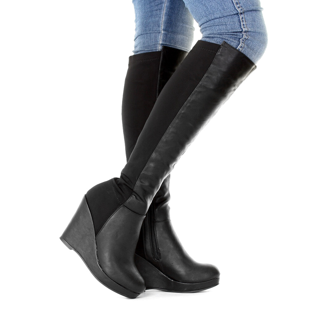 Knee High Boots Introduction. Are you looking for the attractive Knee high Boots. The knee high boots UK are the perfect choice to complement your pretty vip7fps.tk you are shopping for knee high boots this festive season, there are some great discounts offering for you.