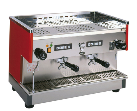 New Commercial 2 Group Bezzera Coffee Machine BC2PBEAN