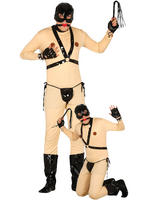 Men's Bondage Suit Costume