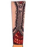 Adult's Zipper Tattoo Sleeve