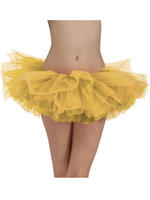 Ladies Gold Tutu