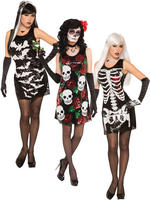 Ladies Halloween Sequin Costume