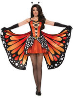 Ladies Monarch Butterfly Costume