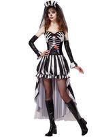 Ladies Skeleton Queen Costume