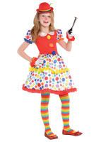 Girl's Circus Clown Dress