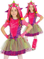 Girl's Pink Monster Costume