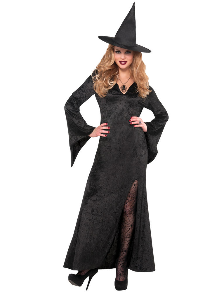 Ladies Basic Witch Dress