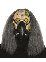 Adult's Pac Gas Mask with Hair