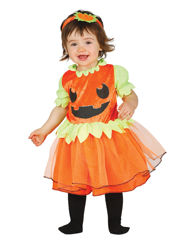 Baby Toddler Pumpkin Halloween Costume Cute Child Fancy ...