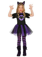 Girl's Little Bat Costume