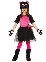 Girl's Urban Kitty Costume