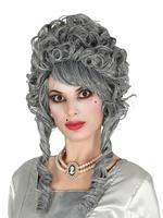 Ladies Grey Marchioness Wig