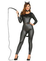 Ladies Black Kitty Costume