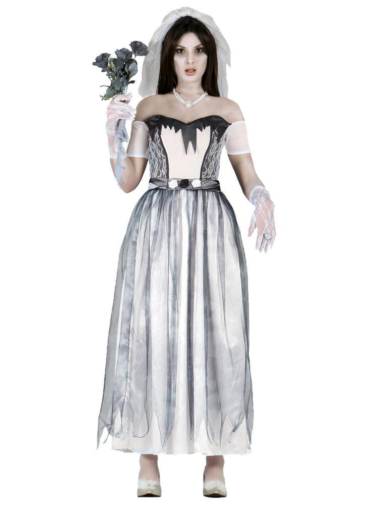 Ladies Ghost Bride Costume