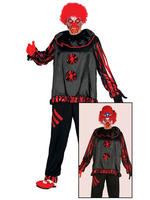 Men's Crazy Clown Costume