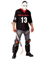Men's Zombie Hockey Player Costume