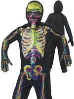 Boy's Glow In The Dark Skeleton Costume