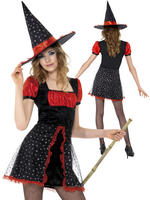 Girl's Teen Star Witch Costume
