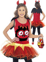 Girl's Moshi Monsters Diablo Costume