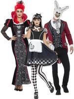 Adult's Dark Alice In Wonderland Costume