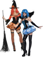Ladies Tainted Garden Witch / Angel Costume