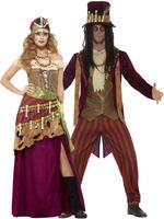 Adult's Deluxe Voodoo Witch Doctor Costume